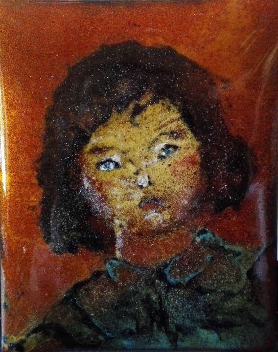 Isabelle Mathis - L'enfant Jeanne - Pièce unique - N°13